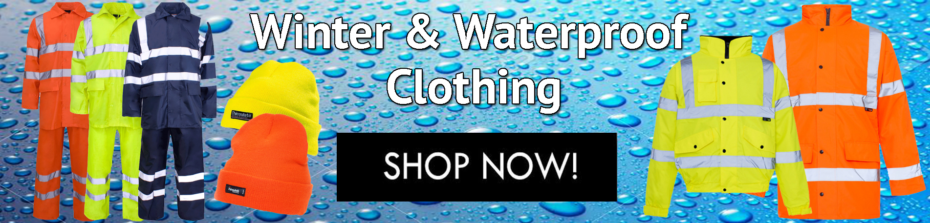 winter and waterproof hi vis banner